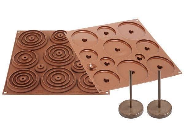 Silikonová forma na čokoládu – 3D kraslice Silikomart