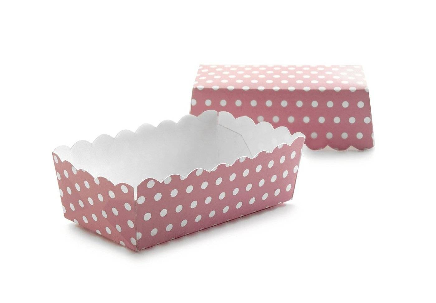 Papírová krabička růžová 12ks Ibili