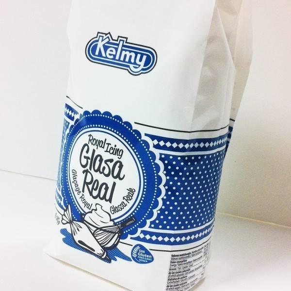 Královská glazura - Royal Icing 1 kg Kelmy