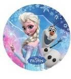 Jedlý papír Elsa a Olaf - 21cm Florensuc