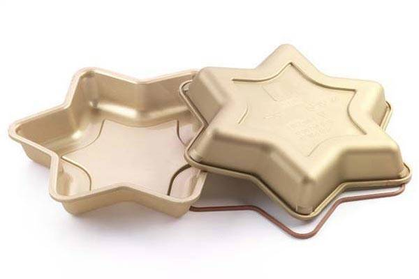 Silikonová forma na dort – hvězda Silikomart